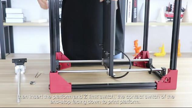 ANYCUBIC 4Max: Step 2, Z axis Assembly