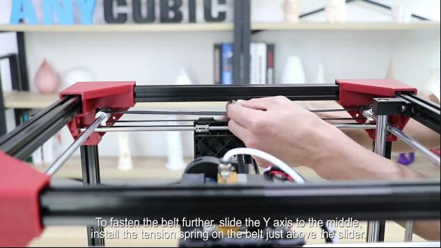 ANYCUBIC 4Max: Step 4, X axis Assembly
