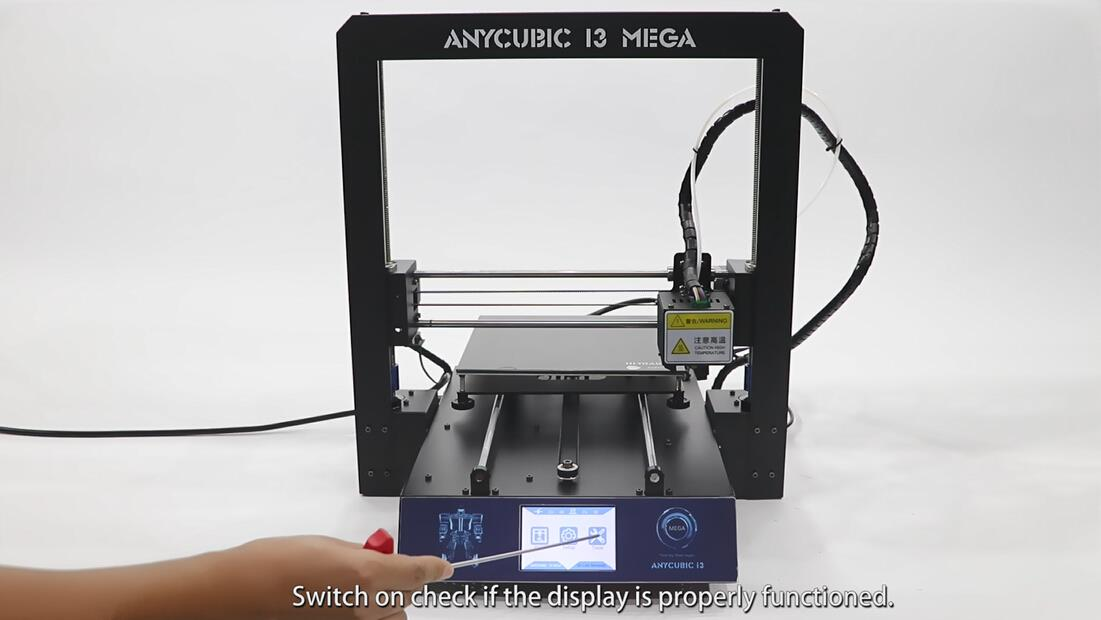 ANYCUBIC Mega: How to replace the Display (04 version)